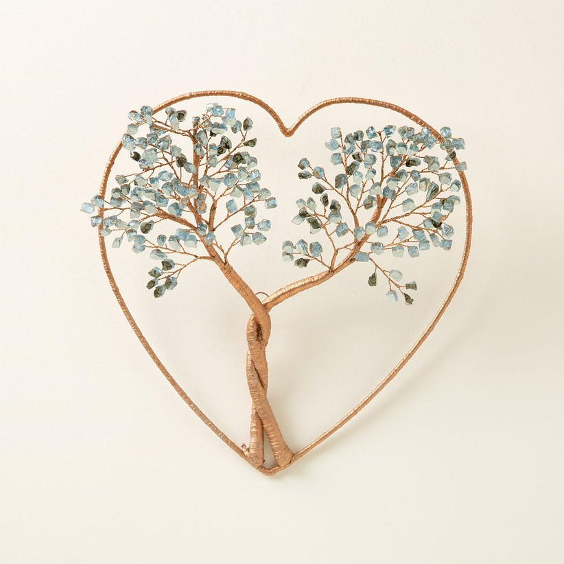 Intertwined tree art