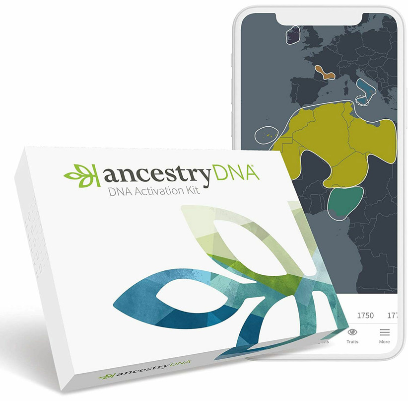 Ancestry DNA kit 35th anniversary gift idea
