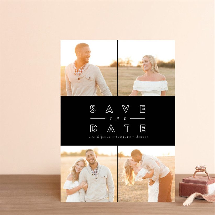 fall save the dates quad pictures