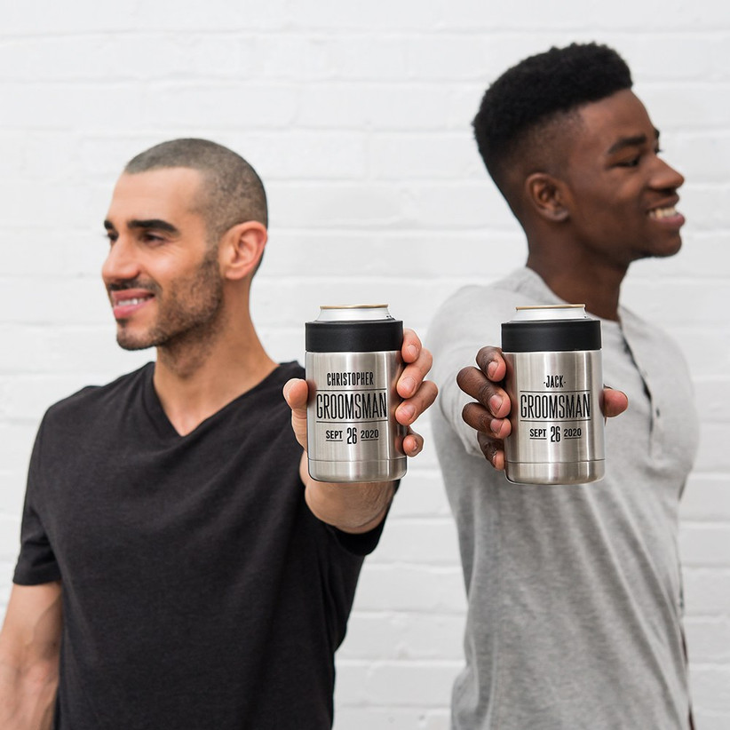 Can coolers groomsmen proposal gifts