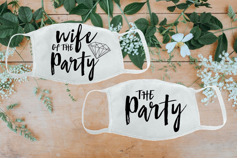 wife of the party masks