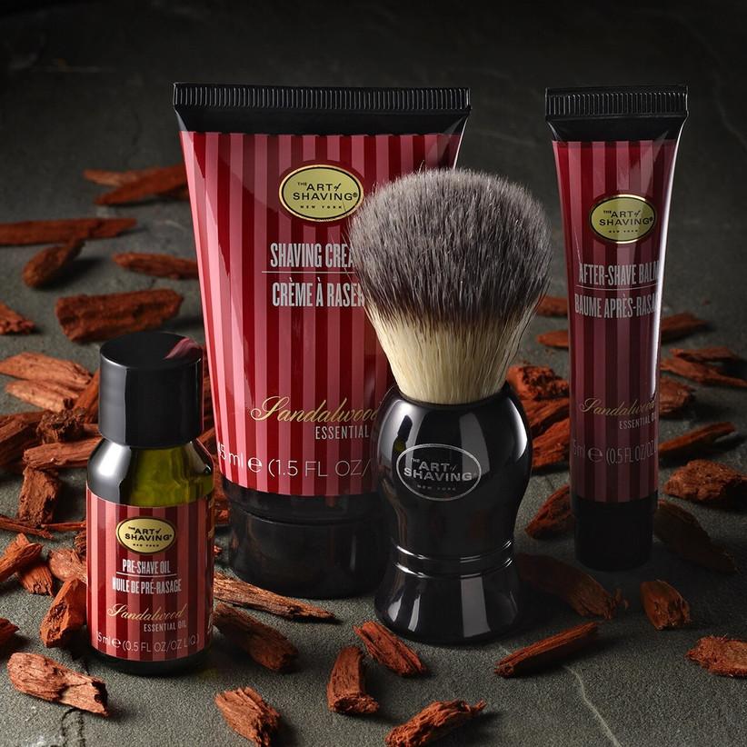 Shaving kit groomsmen gift idea