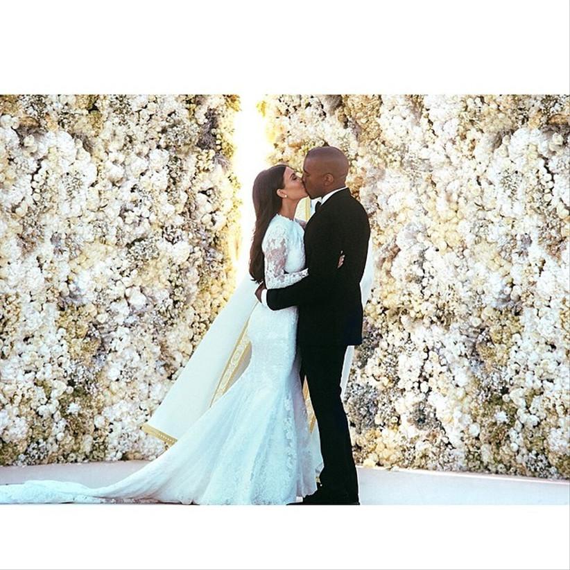 kim kardashian wedding hair