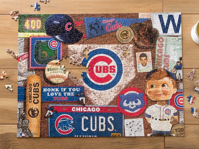 the grommet sports jigsaw puzzle for 14th year wedding anniversary gift