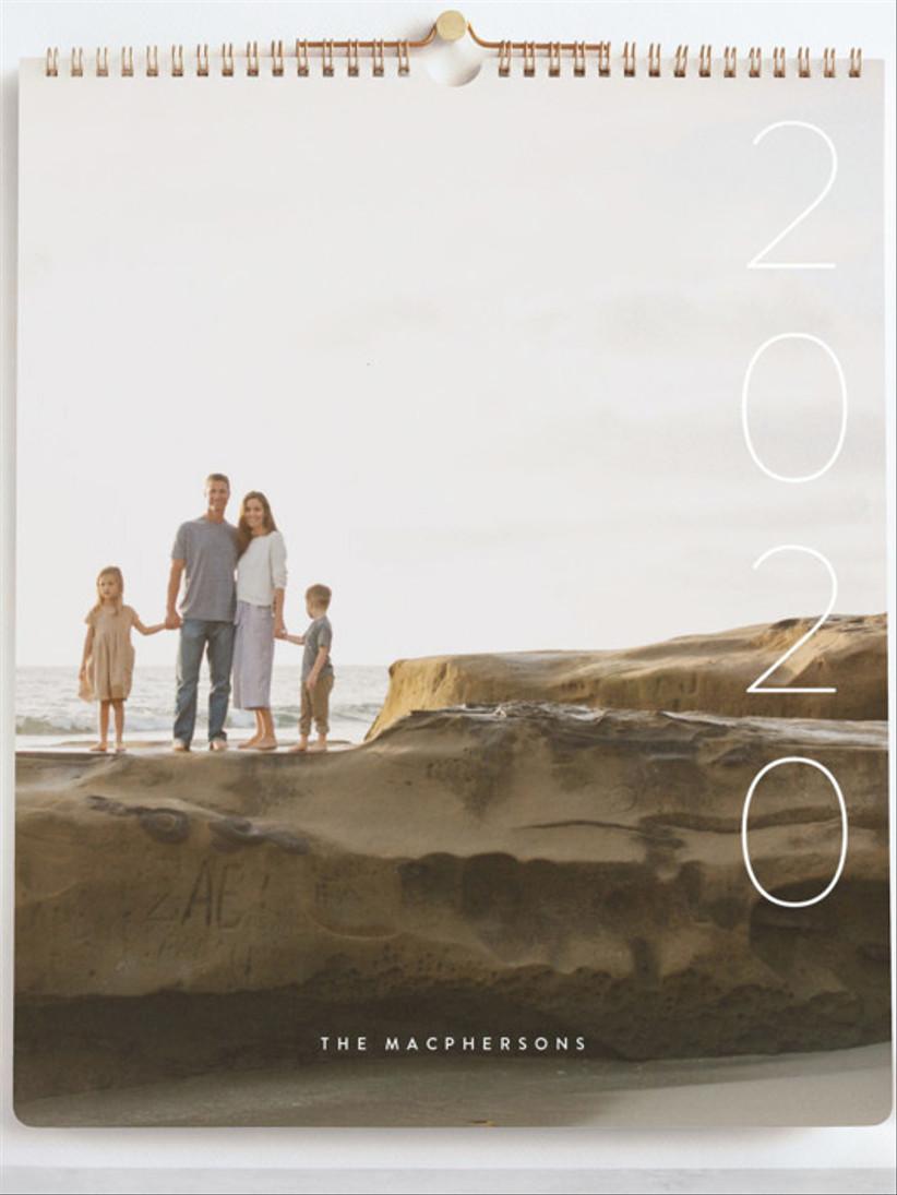 minted photo calendar