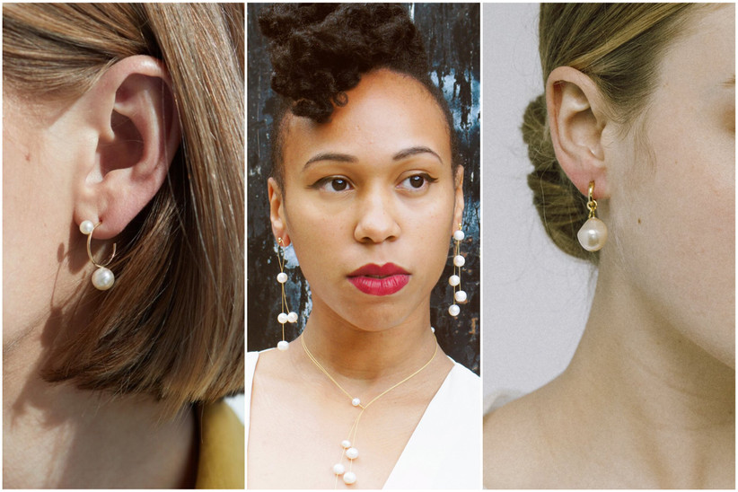 24 Pearl Wedding Earrings For Every Bridal Style