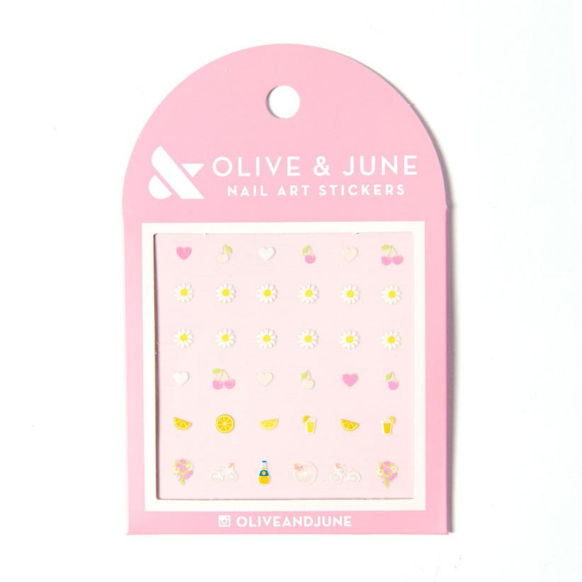 olive & june manicure stickers