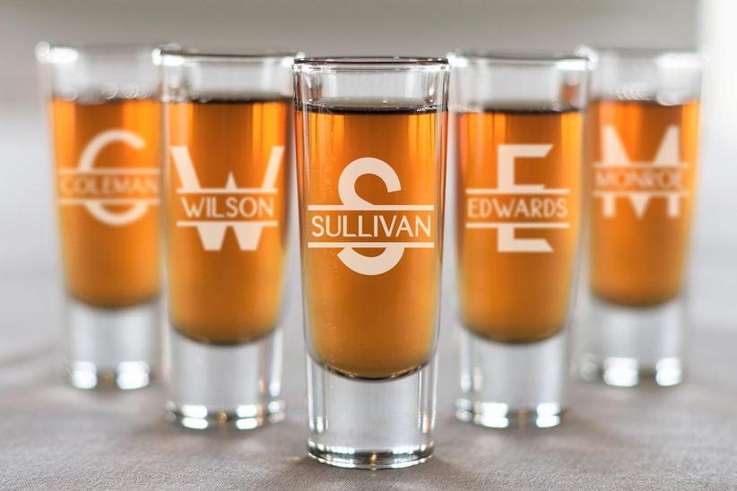 personalized groomsmen shot glasses