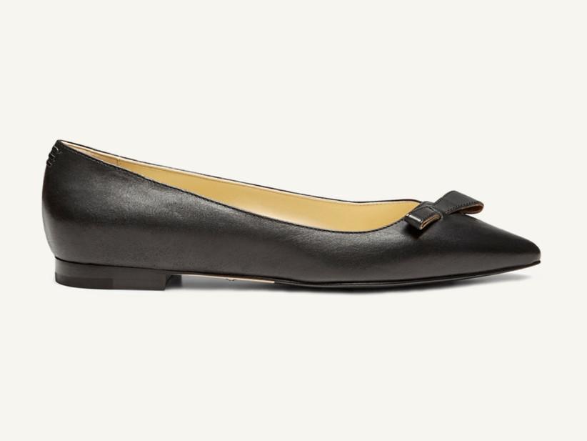 Wedding Guest Shoes black ballet flats