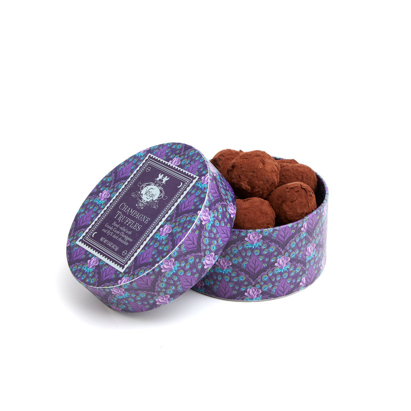 chocolate truffle tin engagement gift