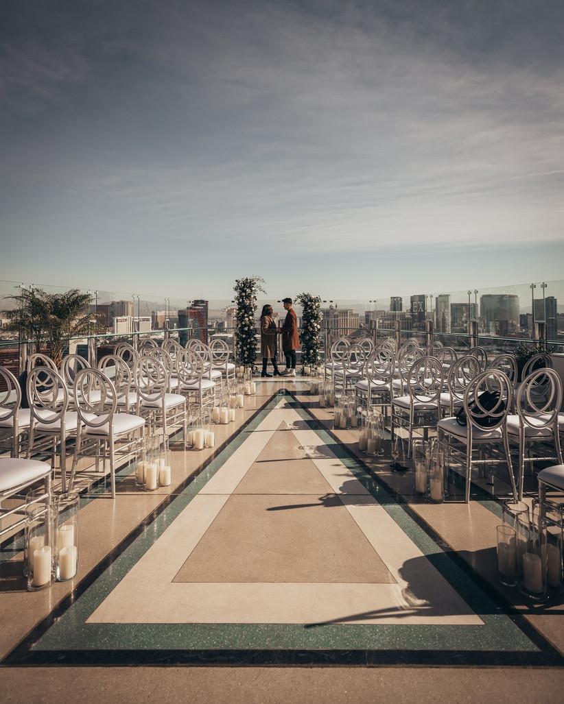 palms casino resort wedding