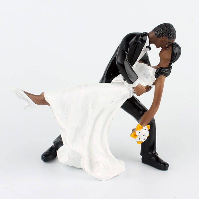 dancing cake topper