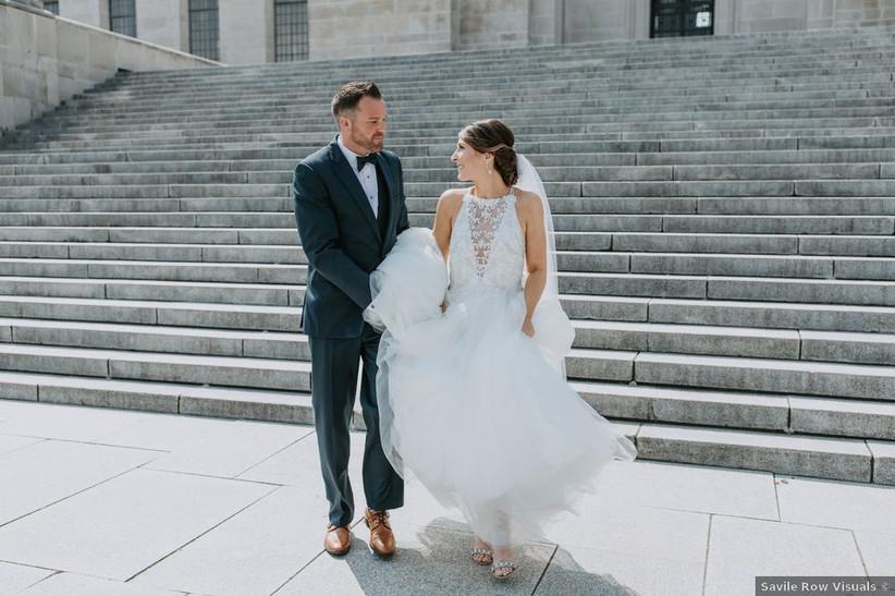 couple wedding lincoln