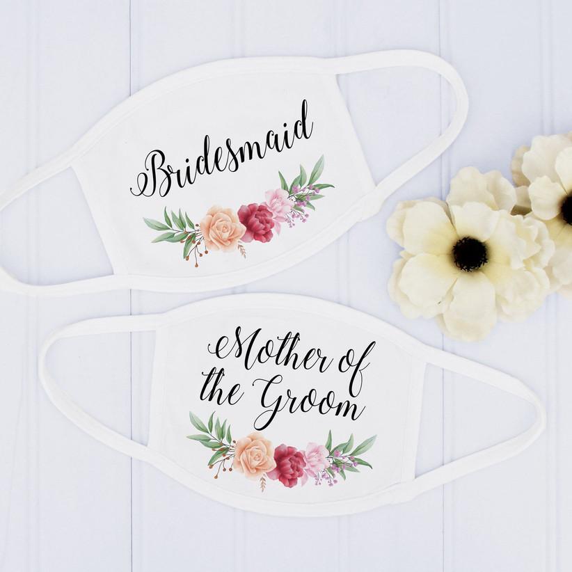 bridesmaid masks