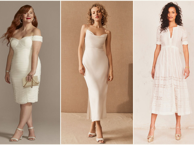 45 Courthouse Wedding Dresses for Your Civil Ceremony