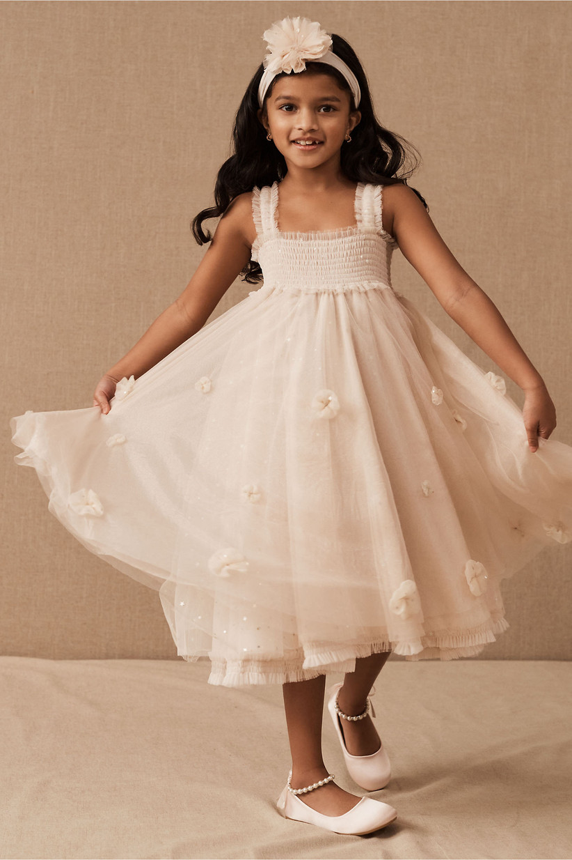 white dress tulle skirt butterfly wings