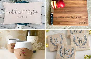 24 Custom Wedding Gifts for the Couple Who's One of a Kind