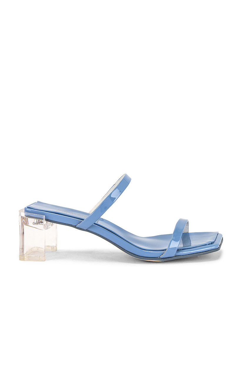 Wedding Guest Shoes block heel mules