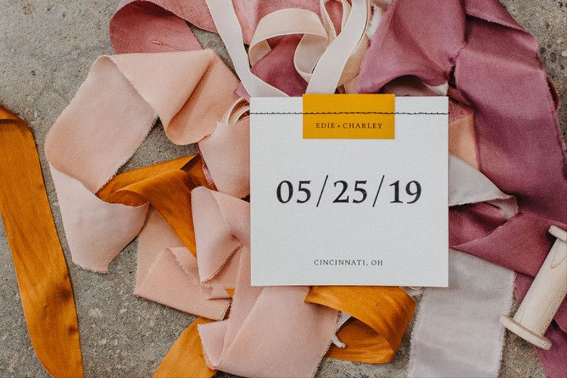 wedding stationery list save the dates