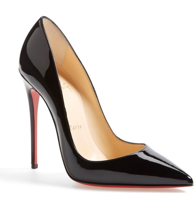 Wedding Guest Shoes patent leather pumps