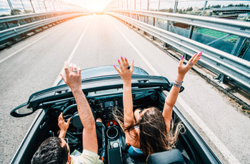 Hit the Highway on a Honeymoon Road Trip