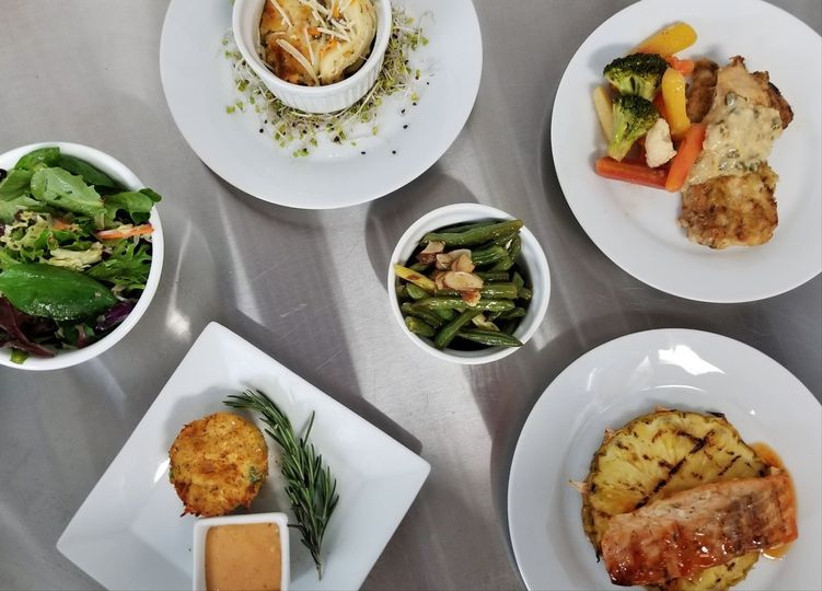 wedding plated dinners