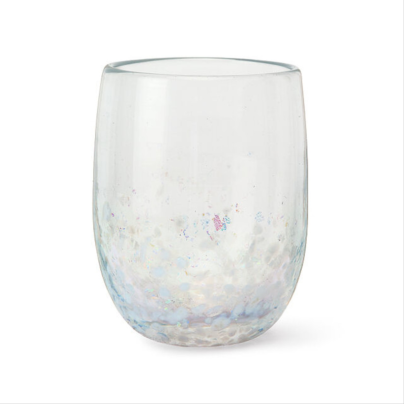 uncommon goods opal wine glass for 14th year wedding anniversary gift