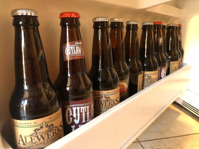 Craft beer selection subscription box idea for couples