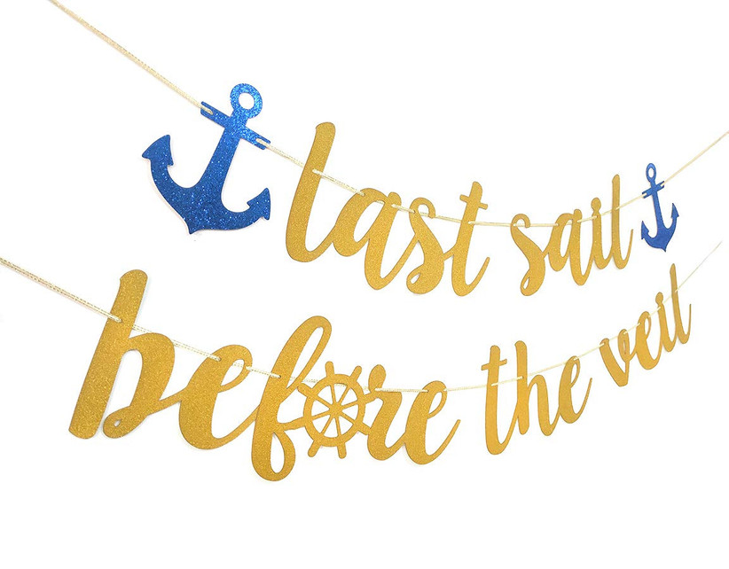 nautical bachelorette banner