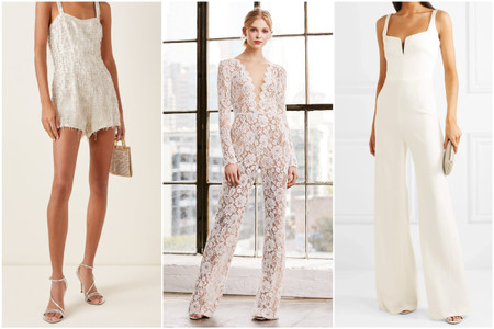 33 Bridal Jumpsuits and Rompers for Your Elopement or Minimony