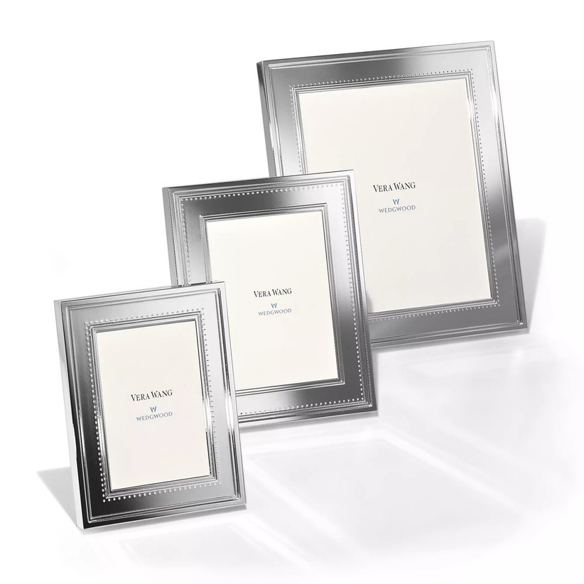 Vera Wang picture frame in three different sizes