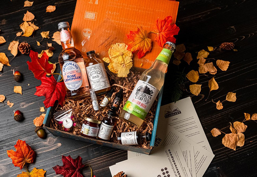 Cocktail subscription box gift for sister-in-law