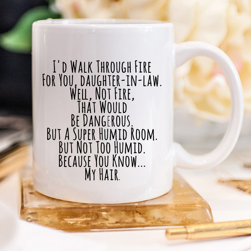 Funny daughter-in-law coffee mug gift