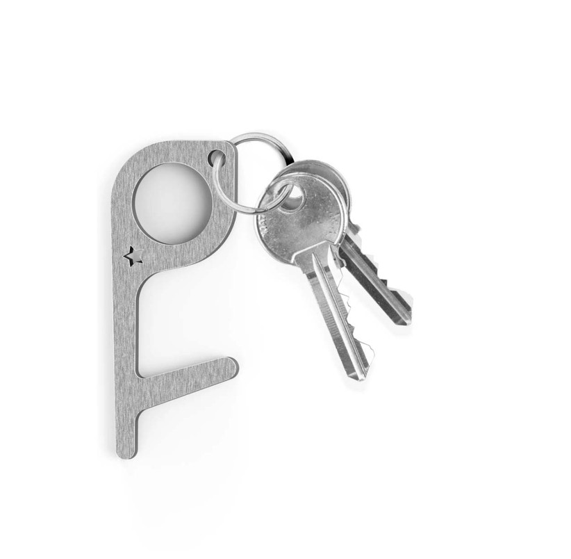 gray stylus keychain