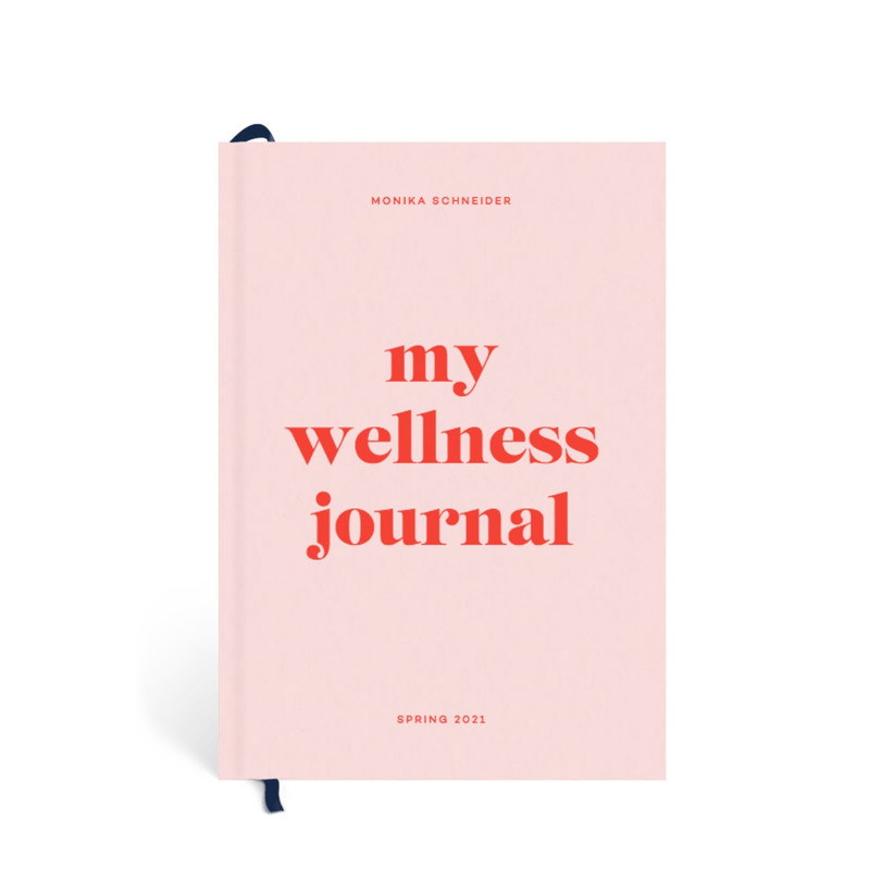 Pink wellness journal gift for sister-in-law