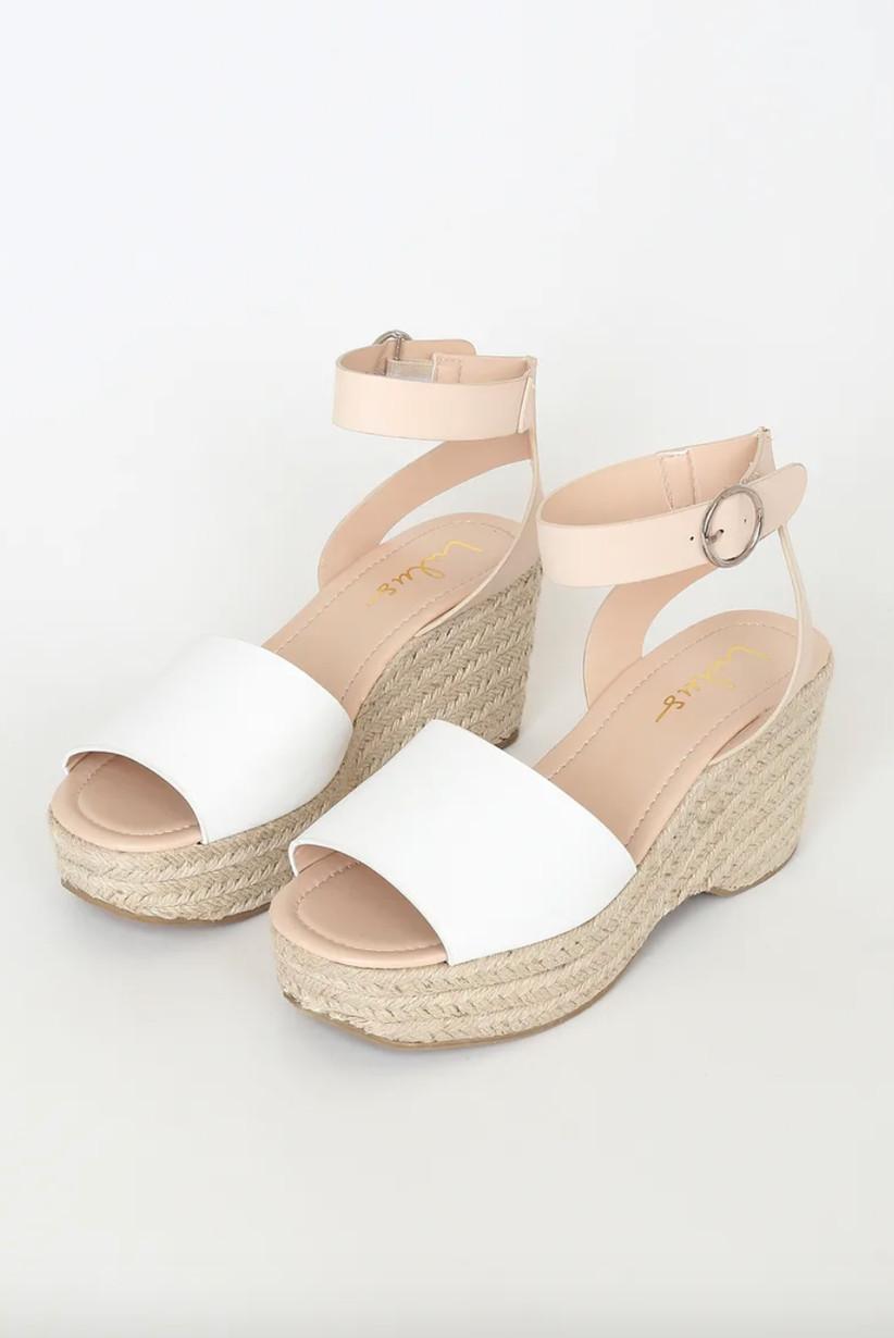 Wedding Guest Shoes platform espadrille sandals