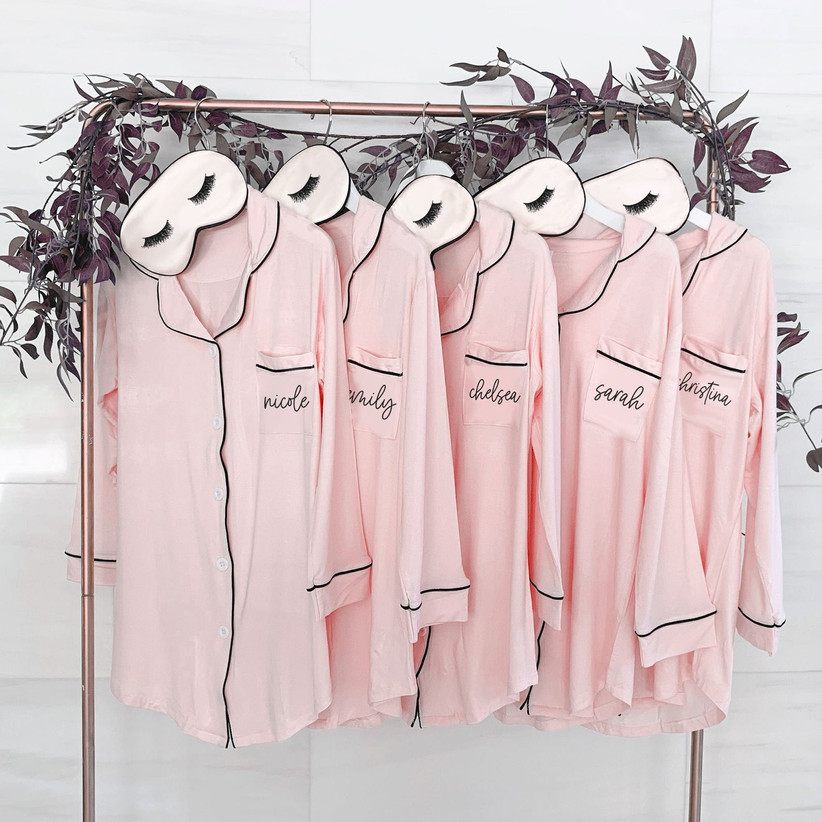 bridesmaid button down shirts