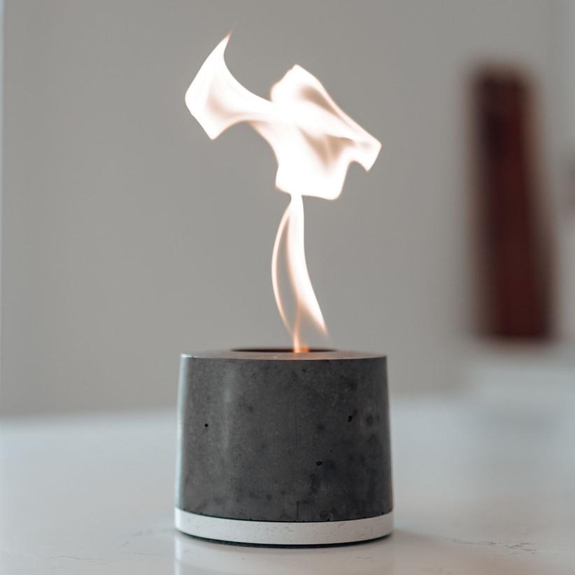 Cool miniature concrete fire pit