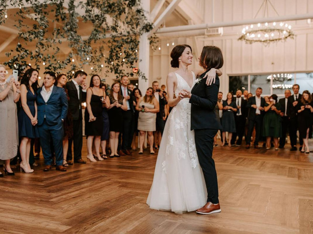 Here's the Exact Order of Dances at a Wedding Reception