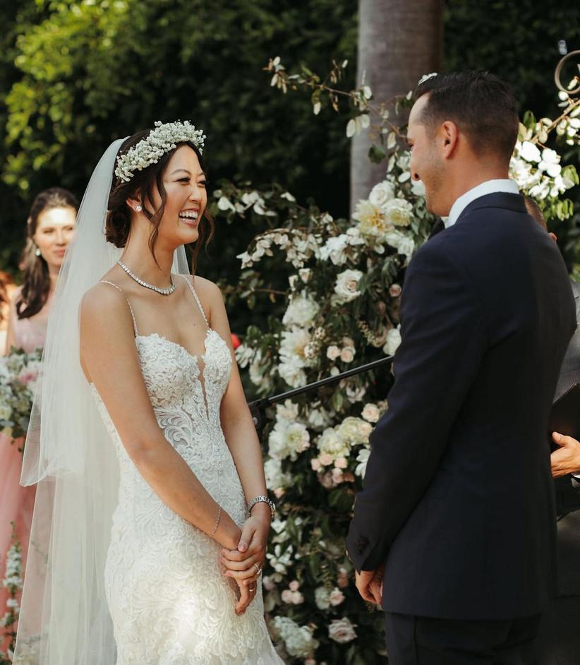 michelle wie wedding hair