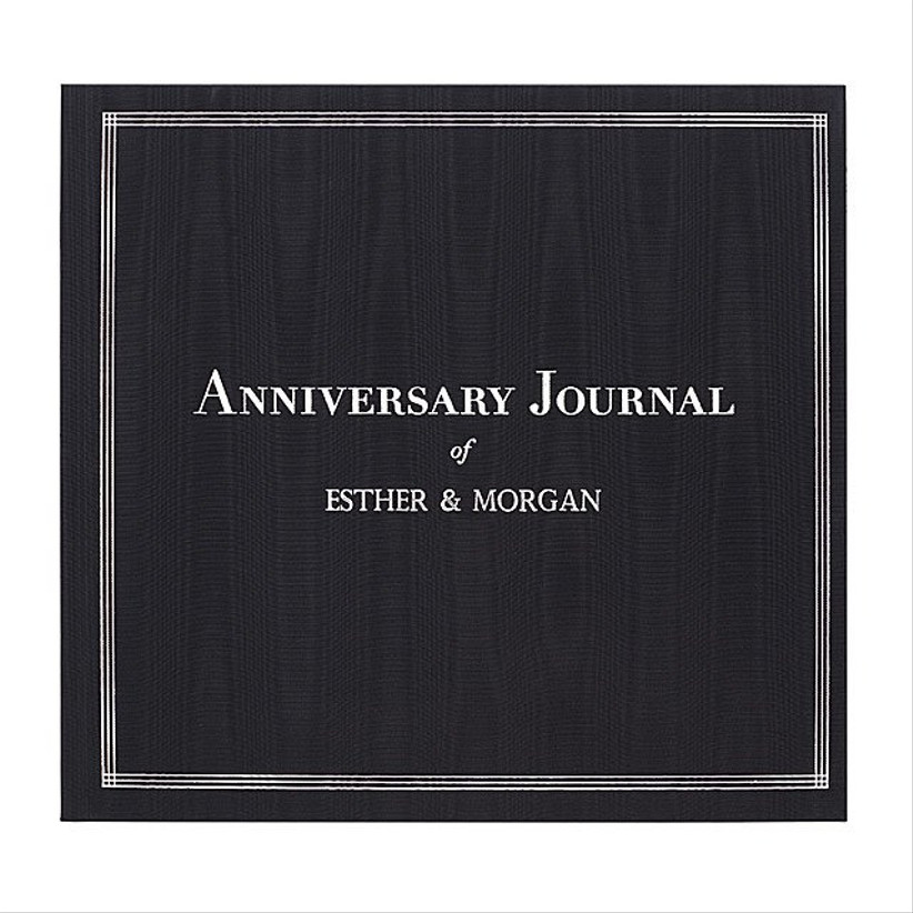 uncommon goods personalized anniversary journal for 14th year wedding anniversary gift