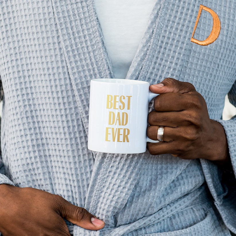 Best Dad Ever coffee mug father of the groom gift