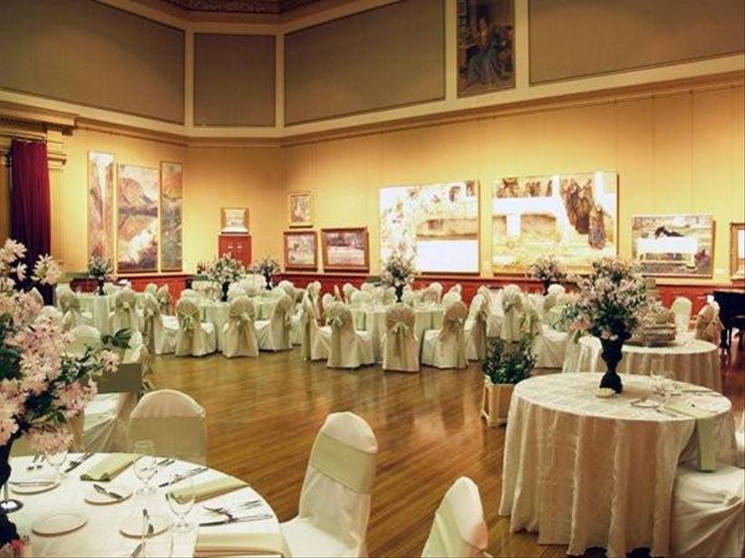 reception view at telfair academy