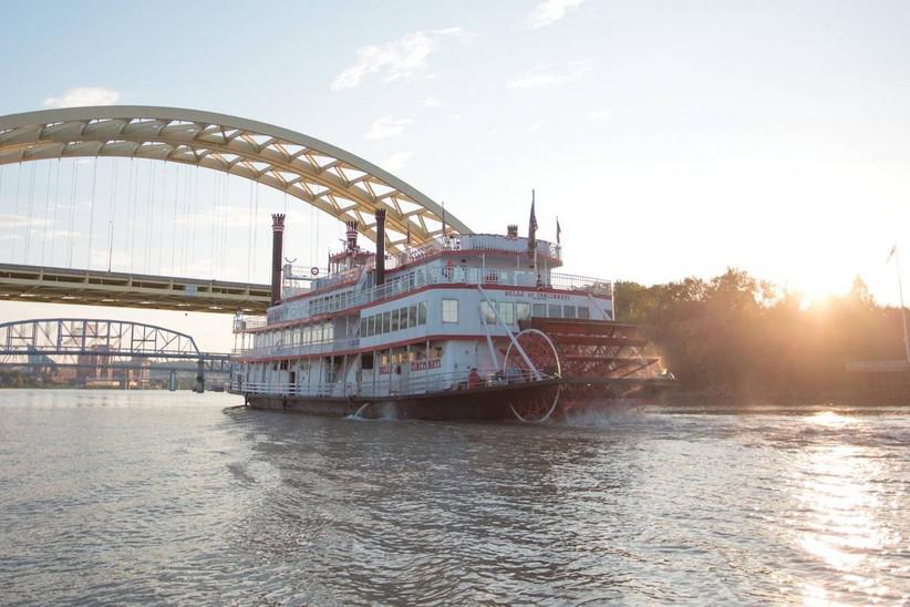 riverboat wedding