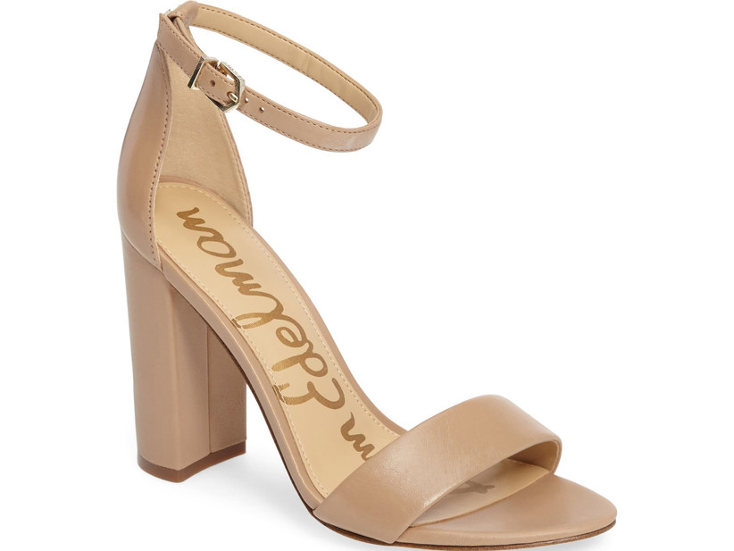 Wedding Guest Shoes nude sandals