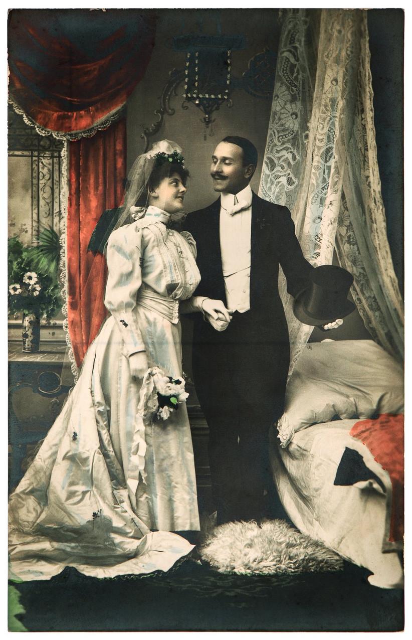 wedding fashion 1900s