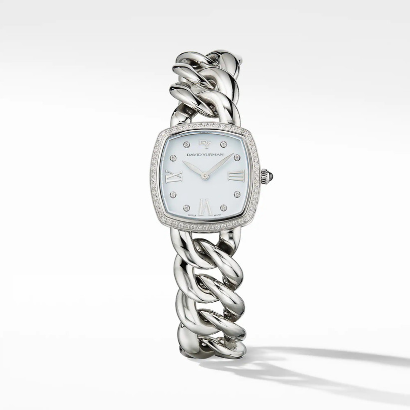 diamond and steel watch for 11th year wedding anniversary gift