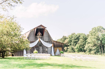 The 15 Best U.S. Destinations for a Barn Wedding