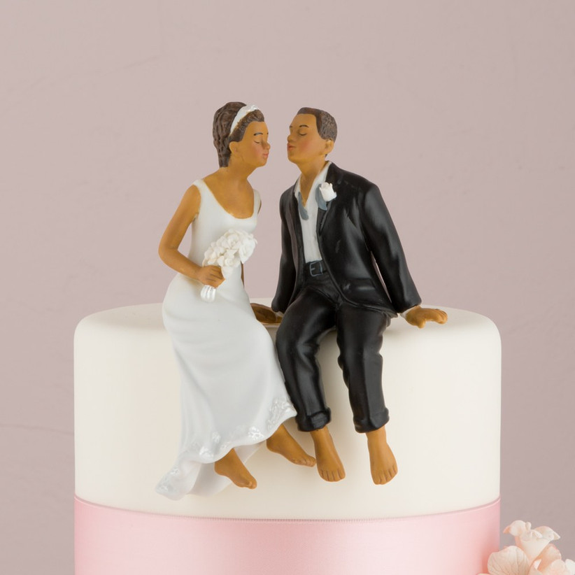 sitting cake topper