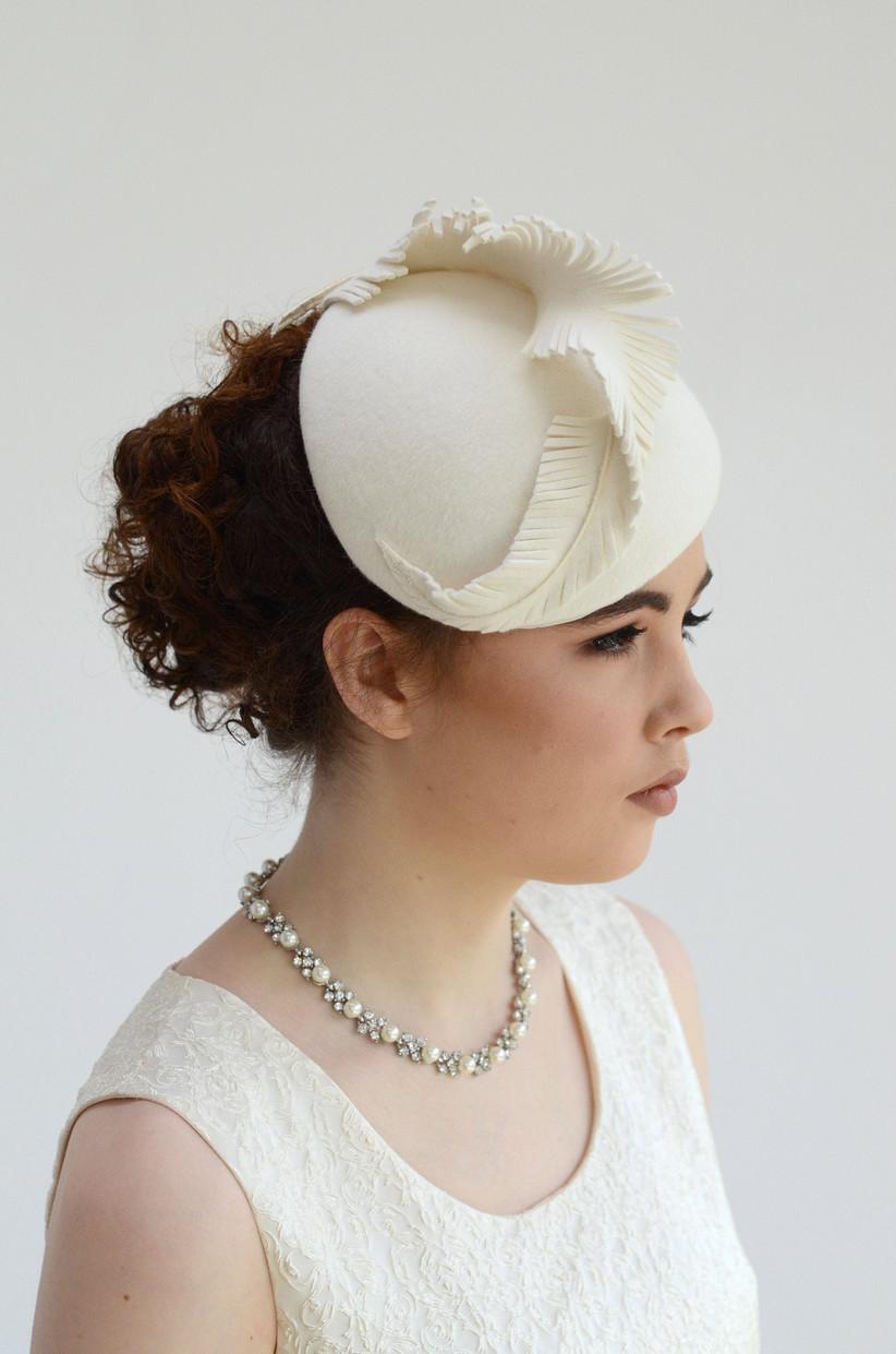 Wedding Hat Fascinator Black Bridal Hat rhinestone Wedding Hat crystal hat Embellishment wedding Hair accessories,bridal hair accessory